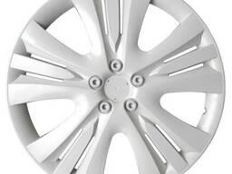 Колпак колесный Люкс (белый) R13