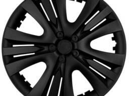 Колпак колесный Люкс (черный) R13