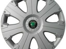Колпак Колесный Skoda (серый) R15
