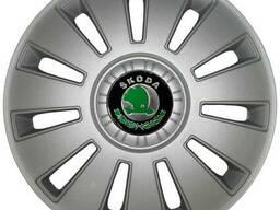 Колпак Колесный Skoda (серый) R16