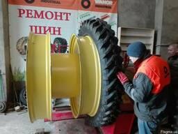 Колёсная система для работы в междурядии 70см на трактор.