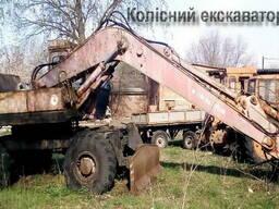 Колёсный экскаватор ЭО-4321