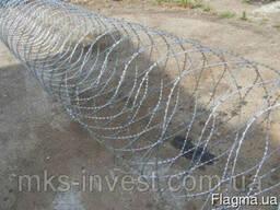 Колючая проволока (Егоза)Спиральный барьер безопасности d-90
