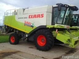 Комбайн Claas Lexion 580, 2005 год (№ 1398)