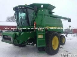 Комбайн зерновой клавишный John Deere 9550 из США