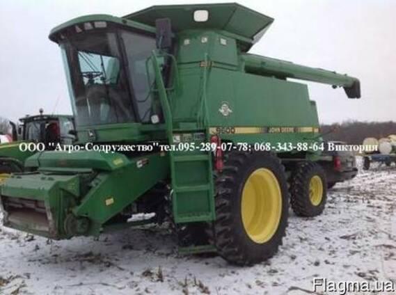Комбайн зерновой клавишный John Deere 9600 из США