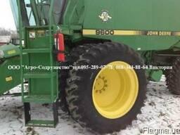Комбайн зерновой клавишный John Deere 9600 из США - фото 2