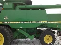Комбайн зерновой клавишный John Deere 9600 из США - фото 4