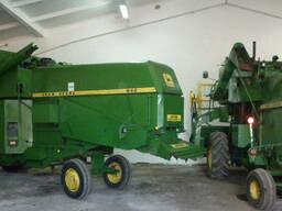 Комбайн зерноуборочный John Deere, Massey Ferguson Б-У