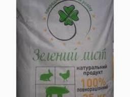 """Комбикорм для бройлеров откормочный """"Зелений лист"""""""