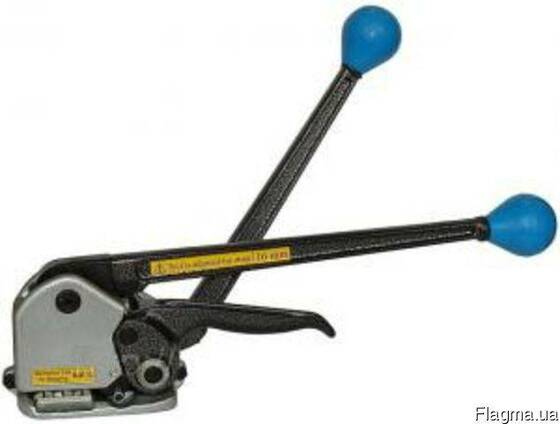 Комбинированный инструмент для упаковки металлической лентой