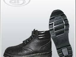 Комбинированные ботинки с мягким кантом