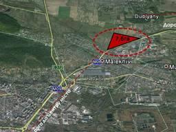 Комерційна ділянка 7,6 га у передмісті Львова