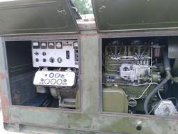 Коммутация военного генератора 12 кВт ЕСС - 62 с 220В на 380В