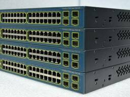 Коммутатор | Cisco Catalyst WS-C3560-48PS-S (PoE) |
