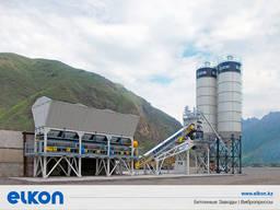 Компактный бетонный завод Elkomix-60 Quick Master
