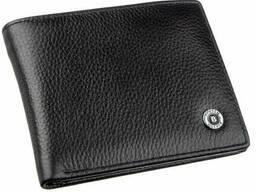 Компактный мужской кошелек Boston Черный, Черный Bstn18830