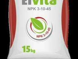 Комплексне добриво Elvita NPK 3-10-45 mikro