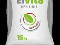 Комплексне добриво Elvita NPK 8-45-8 mikro