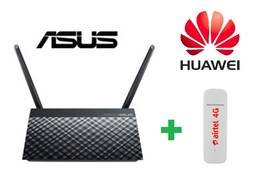 Комплект 3G/4G модем Huawei E3372 Маршрутизатор ASUS RT-AC51