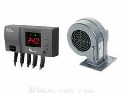 Комплект автоматики KG Elektronik CS-20 LED +вентилятор DP-02 для твердотопливных котлов