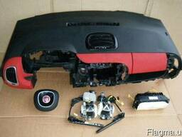 Комплект безопасности торпедо Fiat ( фиат ) 500L 2012-2014