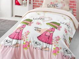 Комплект детского постельного белья Altinbasak Nice Day Pink