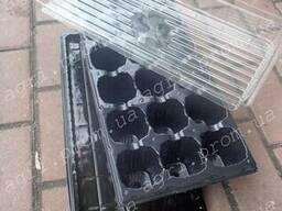 Комплект для рассады на 18 ячеек: кассета поддон крышка