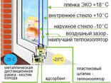"""Пленка теплосберегающая для утепления окон """"третье стекло"""" - фото 2"""