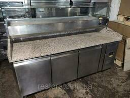Комплект: Холодильный стол для пиццы Tefcold PT1300-I +...