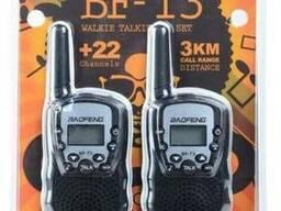 Комплект из двух раций Baofeng BF-T3 (black)