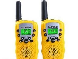 Комплект из двух раций Baofeng BF-T3 (yellow)
