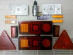 Комплект LED светотехники на легковой прицеп Ksled-2