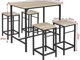 Комплект лофт меблів, лофт меблі, стілець, стіл