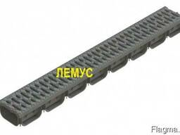 Комплект: лоток пластиковый h72 с пластиковой решеткой
