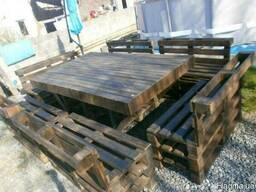 Комплект мебели для дачи. Садовый набор из дерева - фото 1
