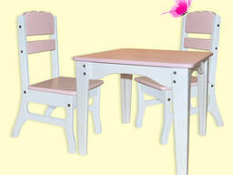 """Комплект мебели для детей """"Бабочка"""" - столик 2 стульчика"""
