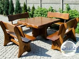 Комплект мебели для сада из сосны