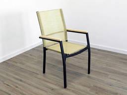 """Кресло для кафе Микс-Лайн """"Мальта"""" слоновая кость"""