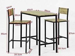 Комплект меблі на замовлення, лофт, барний стілець, стіл