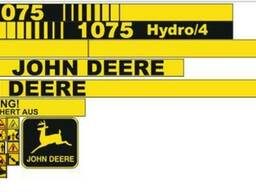 Комплект Наклеек на комбайн John Deere 1075