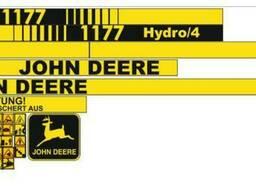 Комплект Наклеек на комбайн John Deere 1177