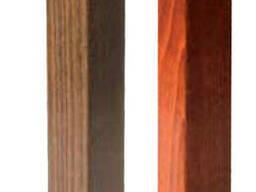 Комплект ножек буковых Прямоугольник ( 2 шт. )