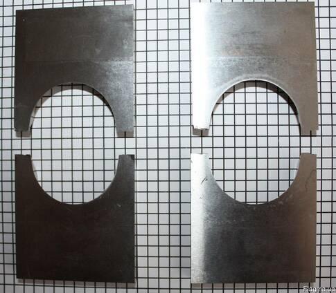 Комплект ножей для строганого бруса с фаской R-20 h-40
