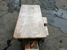 Комплект обеденный : стол и стулья