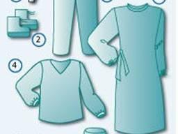 Комплект одежды противоэпидемический №2 стерильный/нестериль