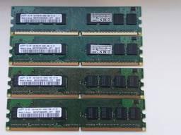 Комплект оперативная память Samsung DDR2 SDRAM 4Gb (4X1Gb)