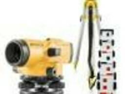Комплект оптического нивелира Topcon AT-B3A