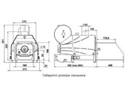 Комплект пеллетная горелка Thermo Alliance Evo 50 кВт + контролер Ecomax 860 Plum