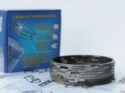 Комплект поршневых колец ЗИЛ-5301/МТЗ 80,82 (хром)